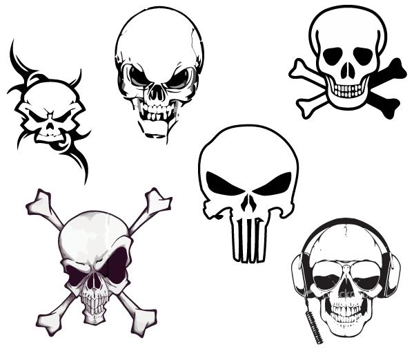 Free Vector Skull, Download Free Clip Art, Free Clip Art on.