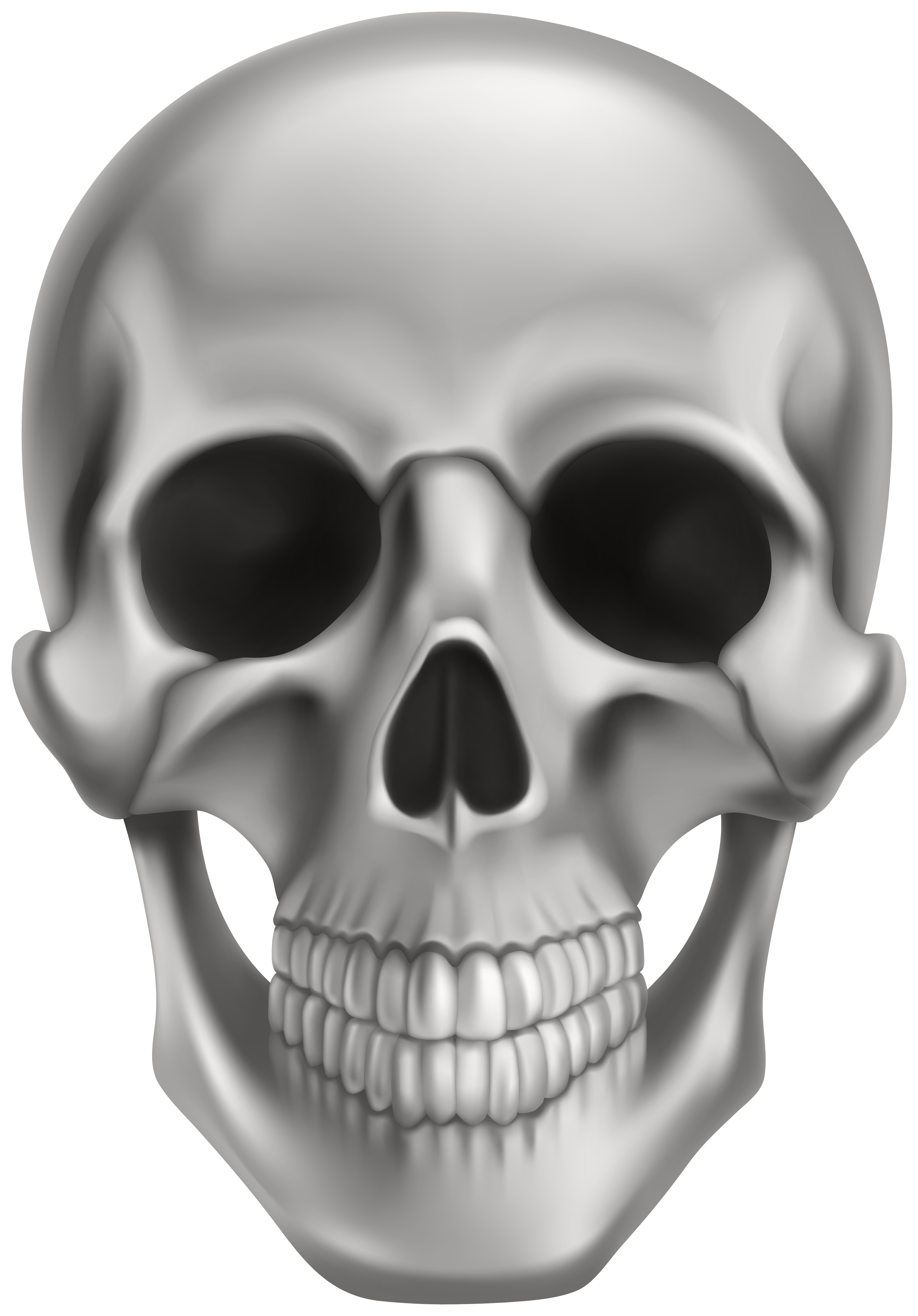 Skull PNG Clipart.