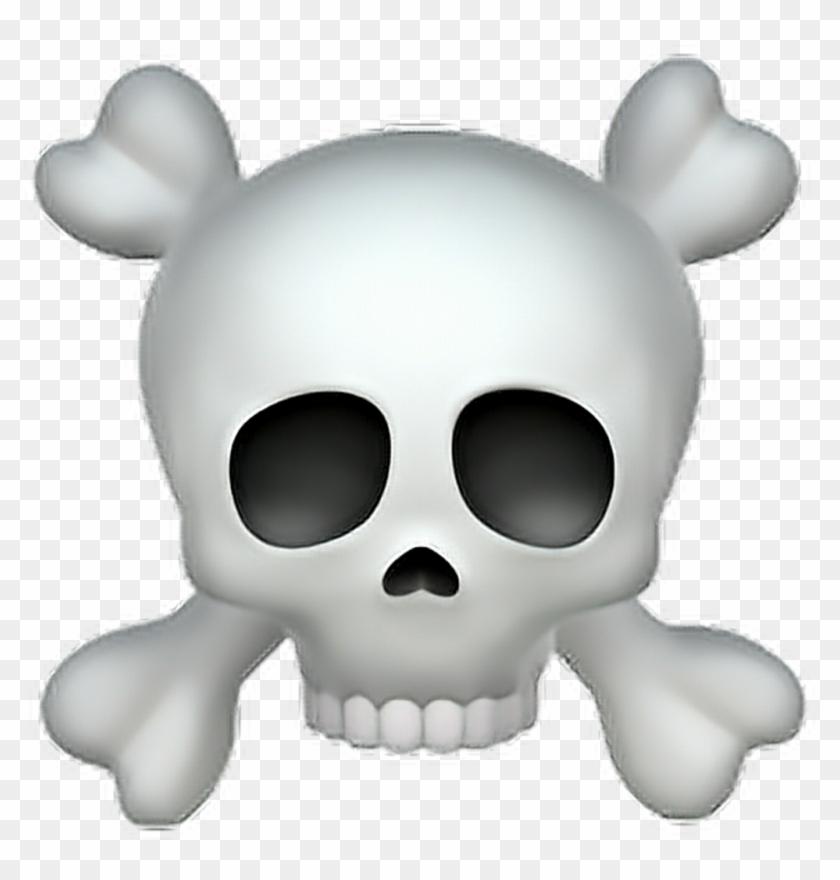 Skull Sticker.