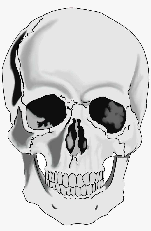 Skull Face Png.