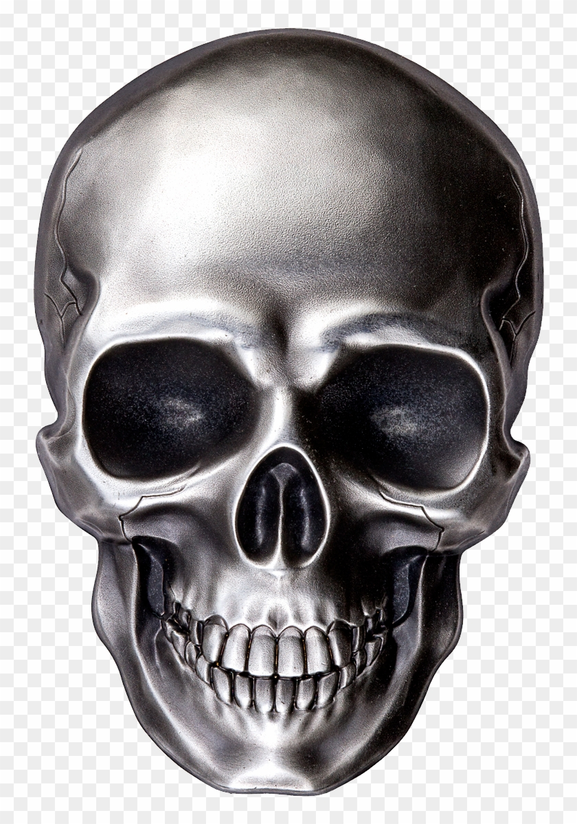 Skeleton Face Png, Transparent Png.