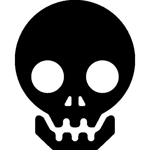 Human skull Icons.