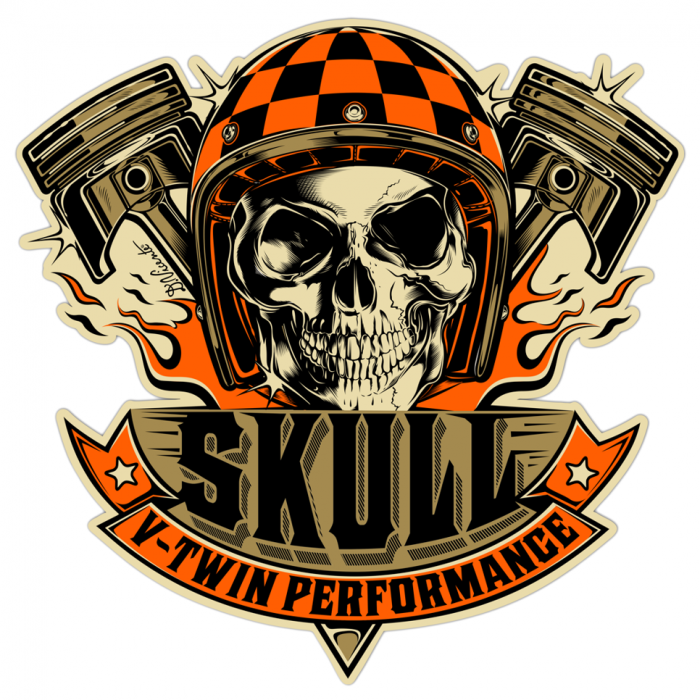 Skull Logo Design Png Vector, Clipart, PSD.