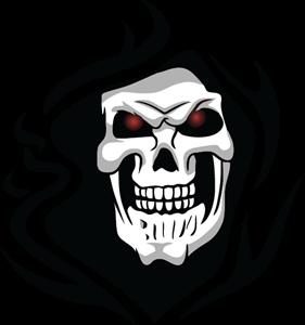 Skull Logo Vectors Free Download.