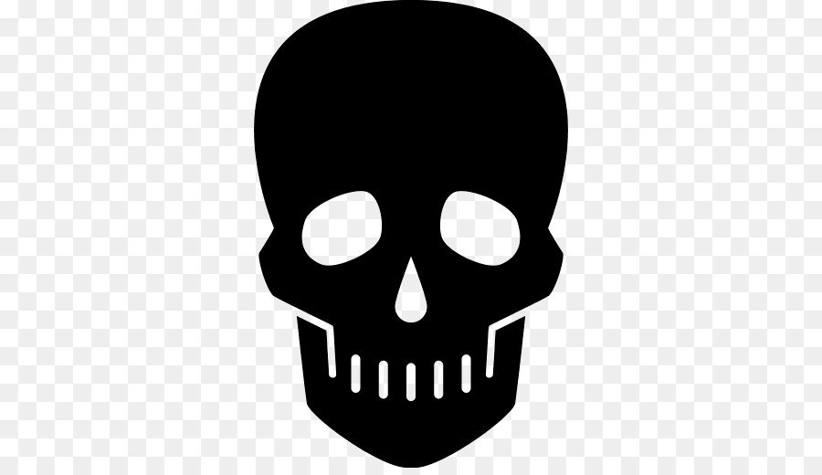 Skull Silhouette png download.