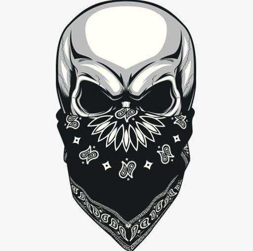 White Skull Mask Element PNG, Clipart, Cartoon, Christmas.