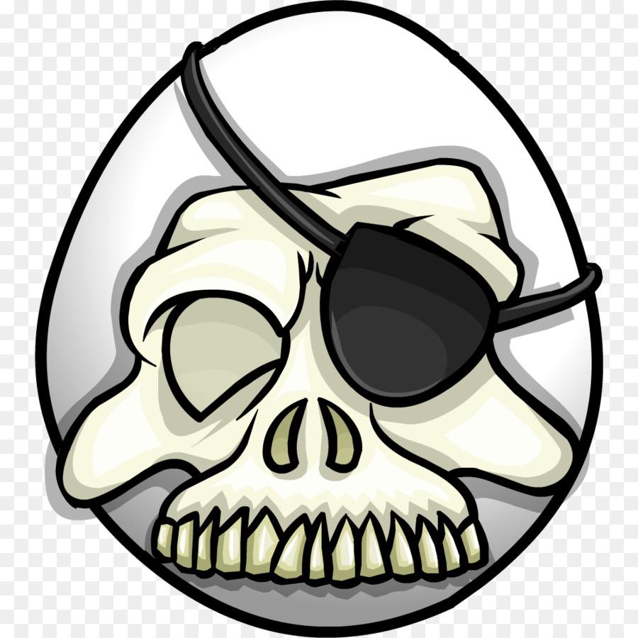 Skull Cartoon clipart.