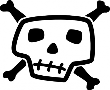 Cartoon Skulls.