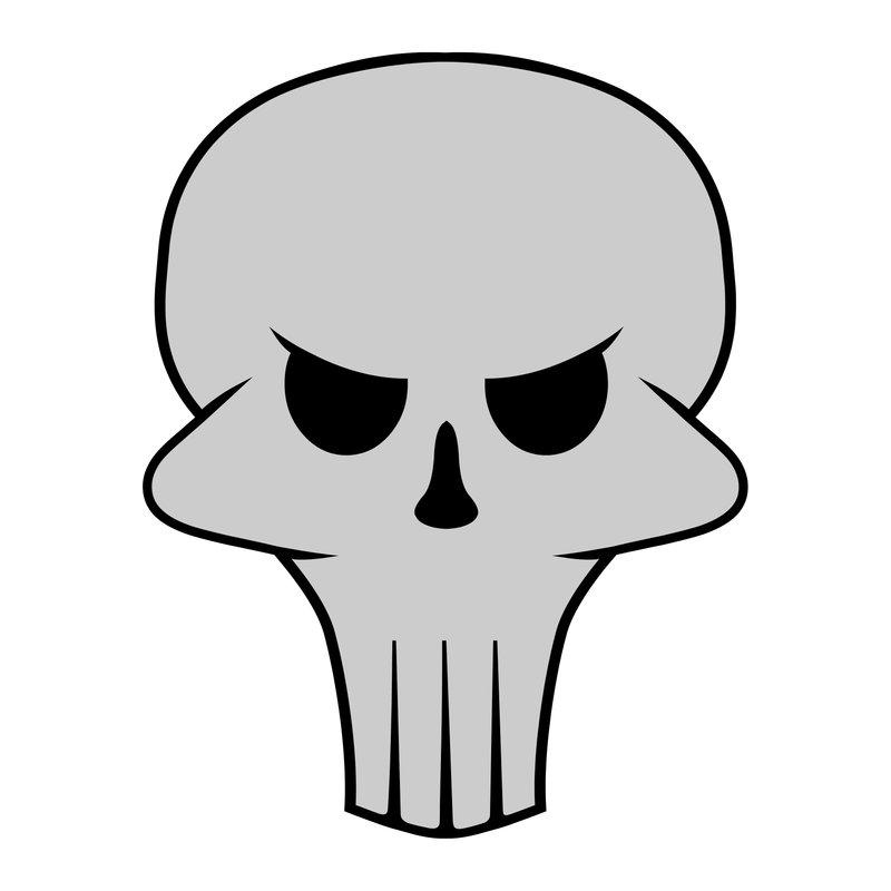 Skull Images Cartoon.
