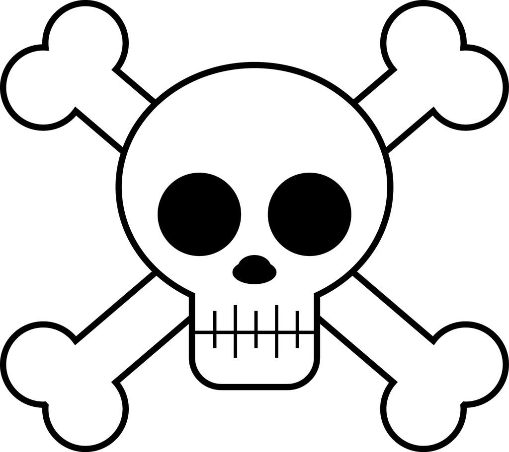 Skull Cartoon.