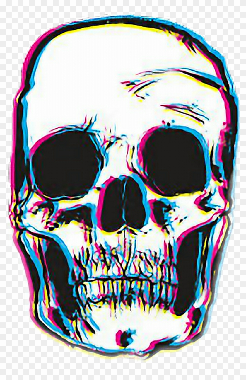 Skull Png Tumblr , Png Download, Transparent Png.