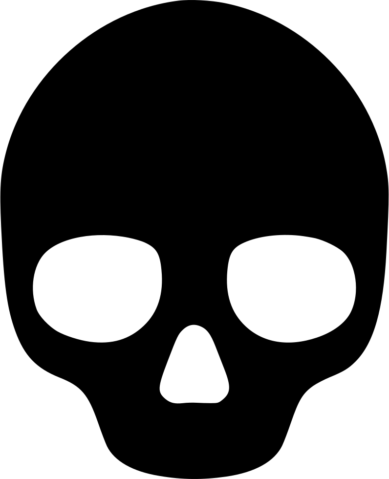 Skull Svg Png Icon Free Download (#493013).