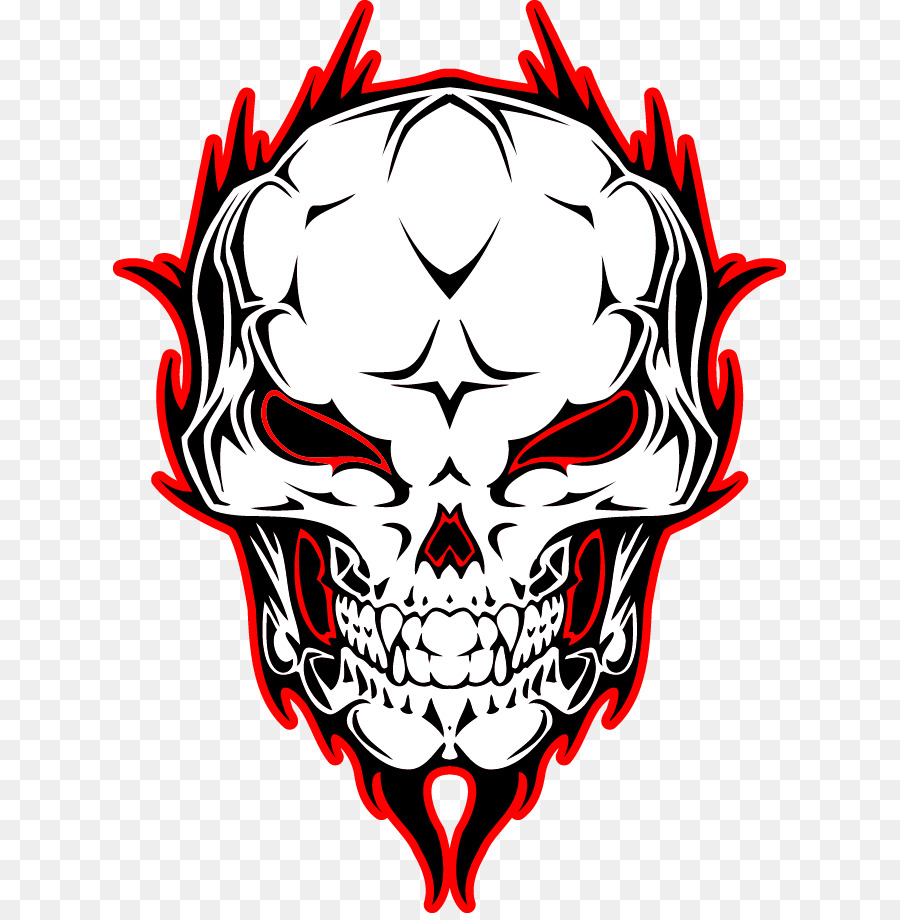 Download Free png Skull Vecteur Illustration Vector Skull.