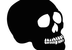 Skull Silhouette Png (104+ images in Collection) Page 2.