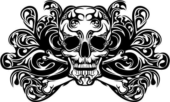 Free skull tattoo designs free vector download (1,273 Free.