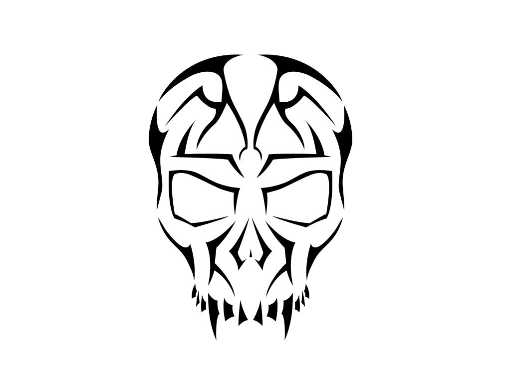 Skull tattoo clipart » Clipart Portal.