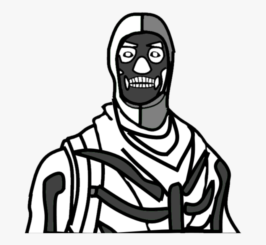 Skull Trooper Png Drawing , Png Download.