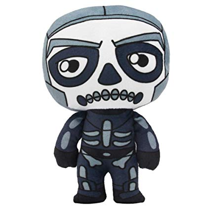 Mazeshop Battle Royale Game Halloween Skins Skull Trooper Plush Figure  Stuffed Doll 8 inch.