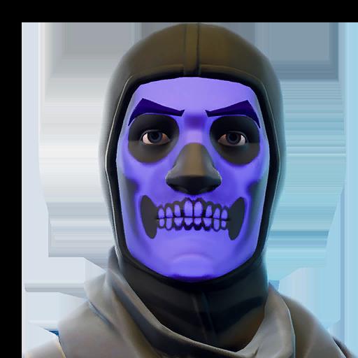 Fortnite Skull Trooper Skin.