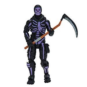 Fortnite Legendary Series 6in Figure Pack, Skull Trooper (Purple Glow).