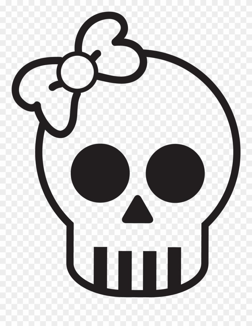 Simple Cute Skull Www Pixshark Com Images Galleries.