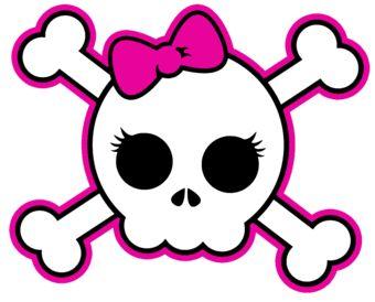 Girly Skull.