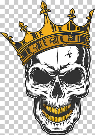 63 skull Crown PNG cliparts for free download.