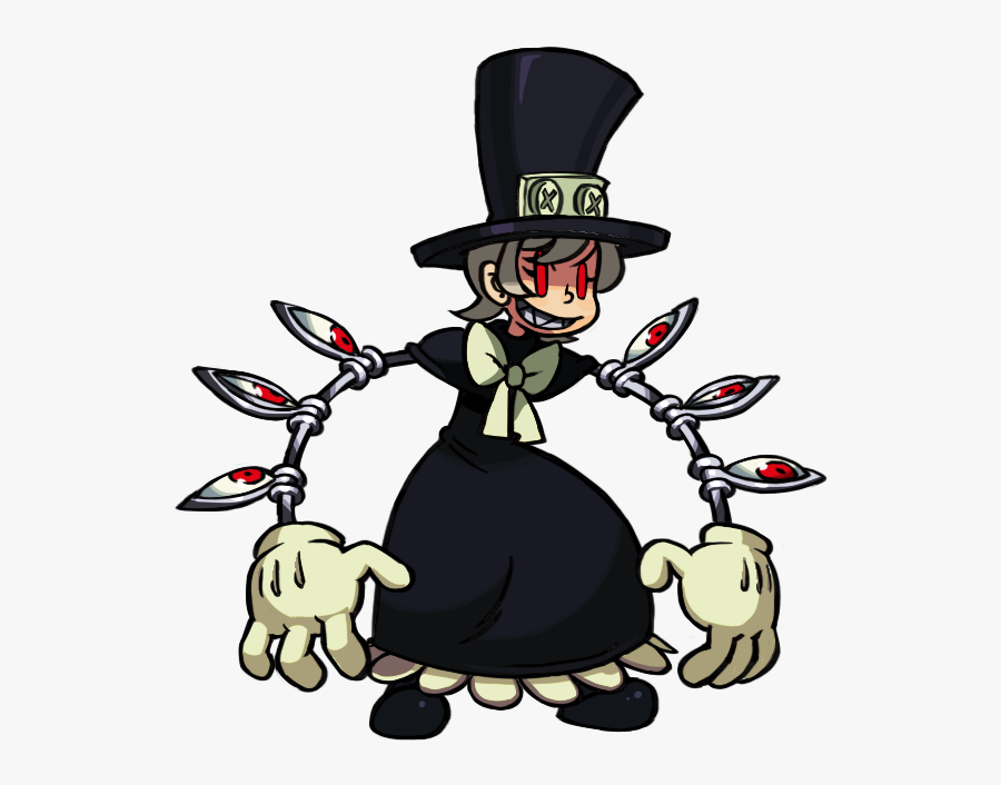 Skullgirls Peacock Animation Clipart , Png Download.