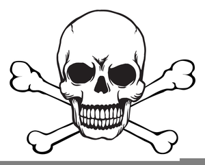 Skull And Crossbone Free Clipart.