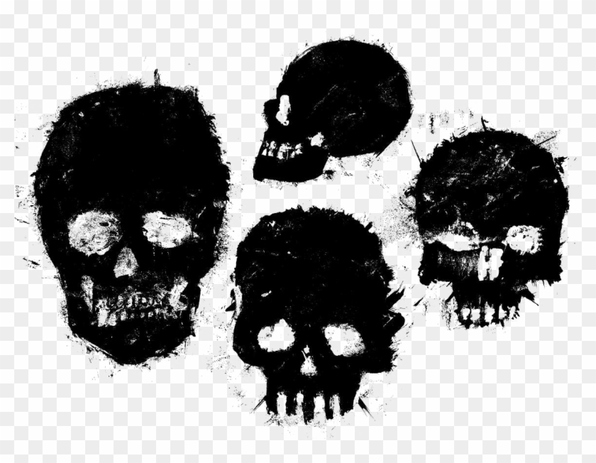 Black Skull Png Free Download.