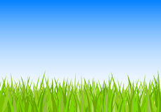 Sky And Grass Clipart.