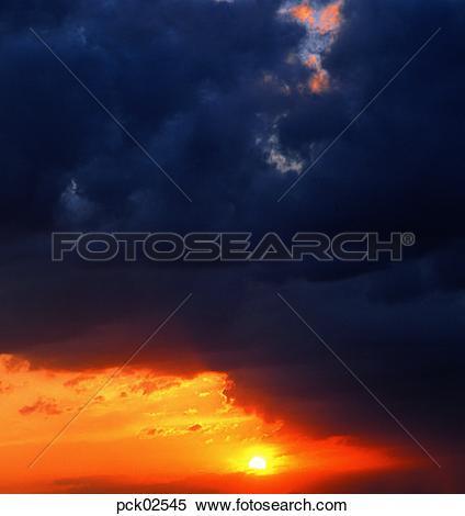 Stock Image of red sky, sunrise, sunset, cloud, sky, sunset.