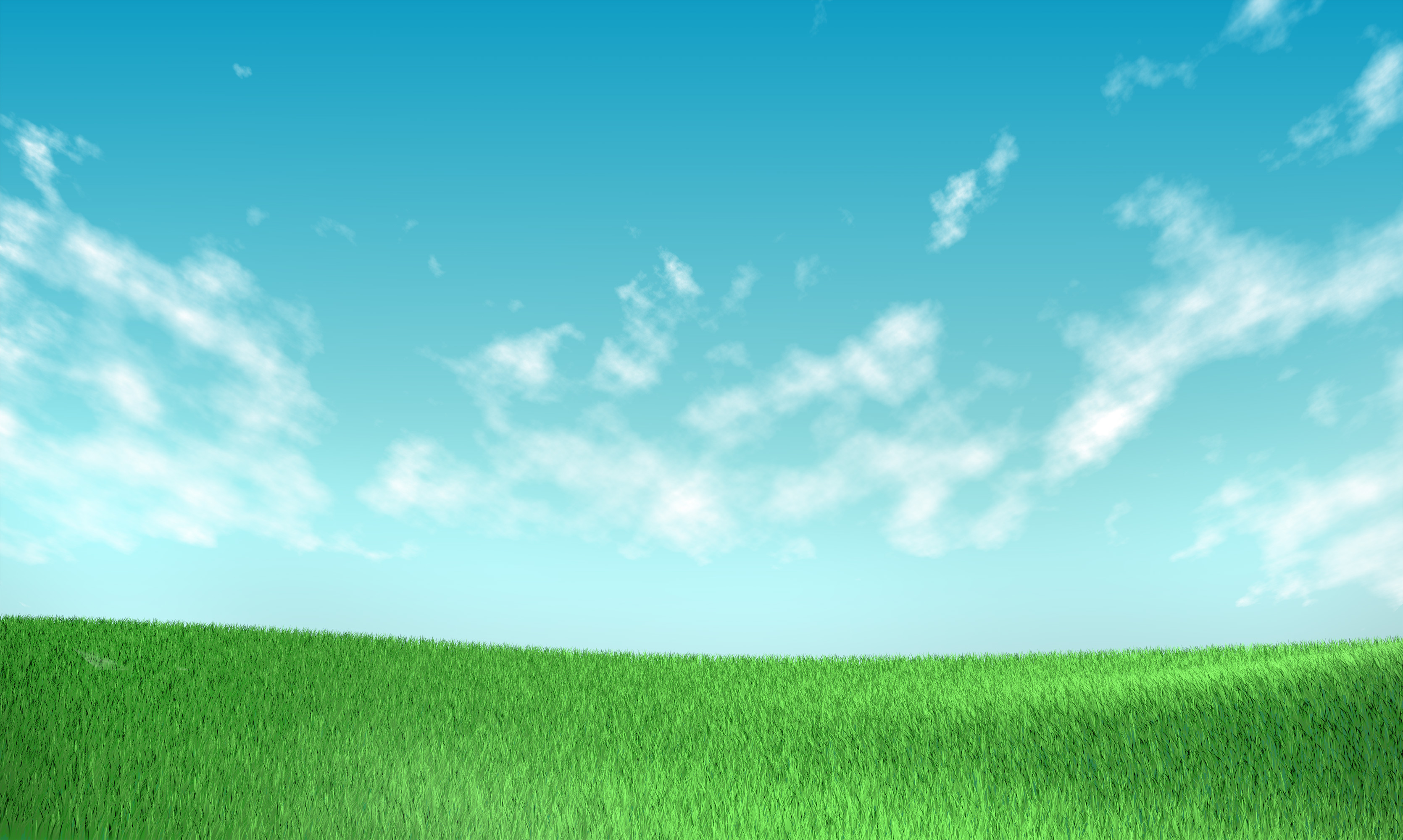 Grass and sky background clipart.