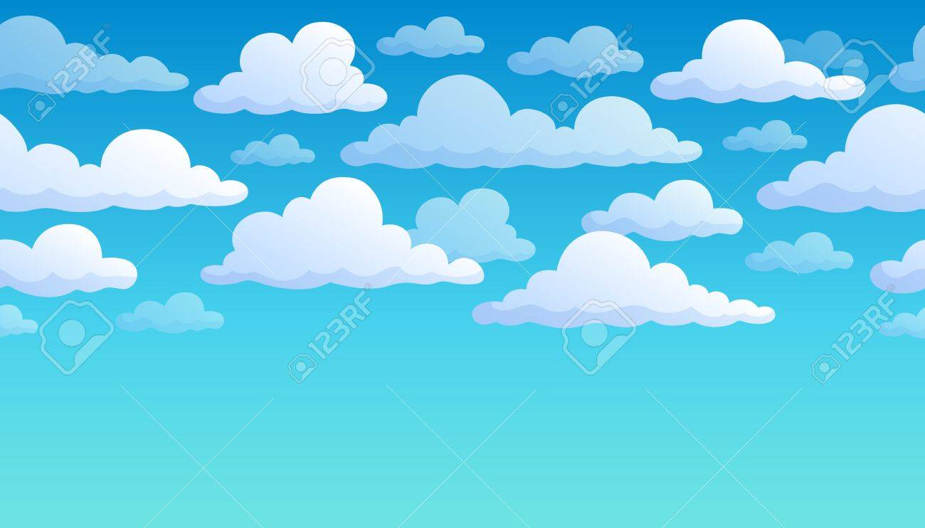 Cloudy sky background 7 » Clipart Station.