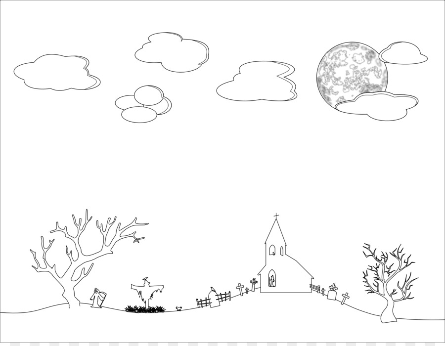 Sky black and white clipart 4 » Clipart Station.