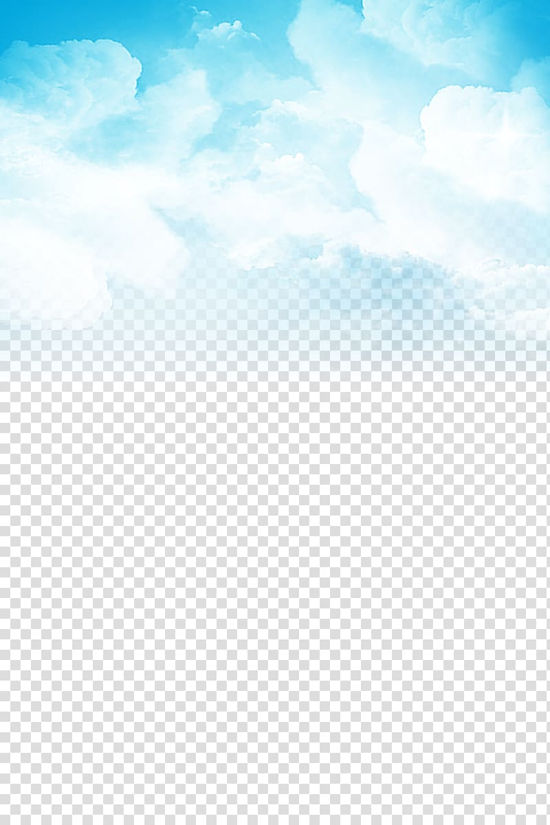 Cloud Sky Blue , Blue sky and white clouds, clouds painting.