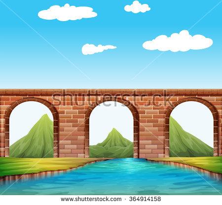 Bridge Clip Art Stock Photos, Royalty.