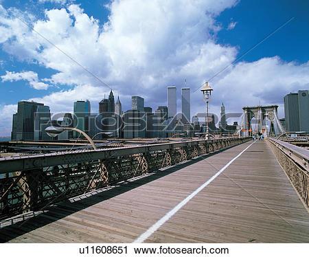 Stock Photography of scenery, cityview, cloud, sky, bridge.