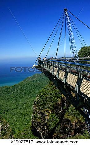 Picture of Langkawi Sky Bridge, Langkawi island, Malaysia.