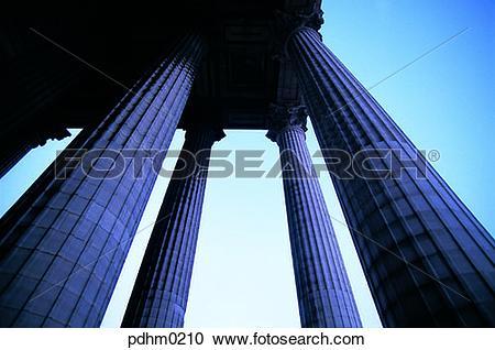 Stock Photography of madeleine, monastery, column, sky, building.