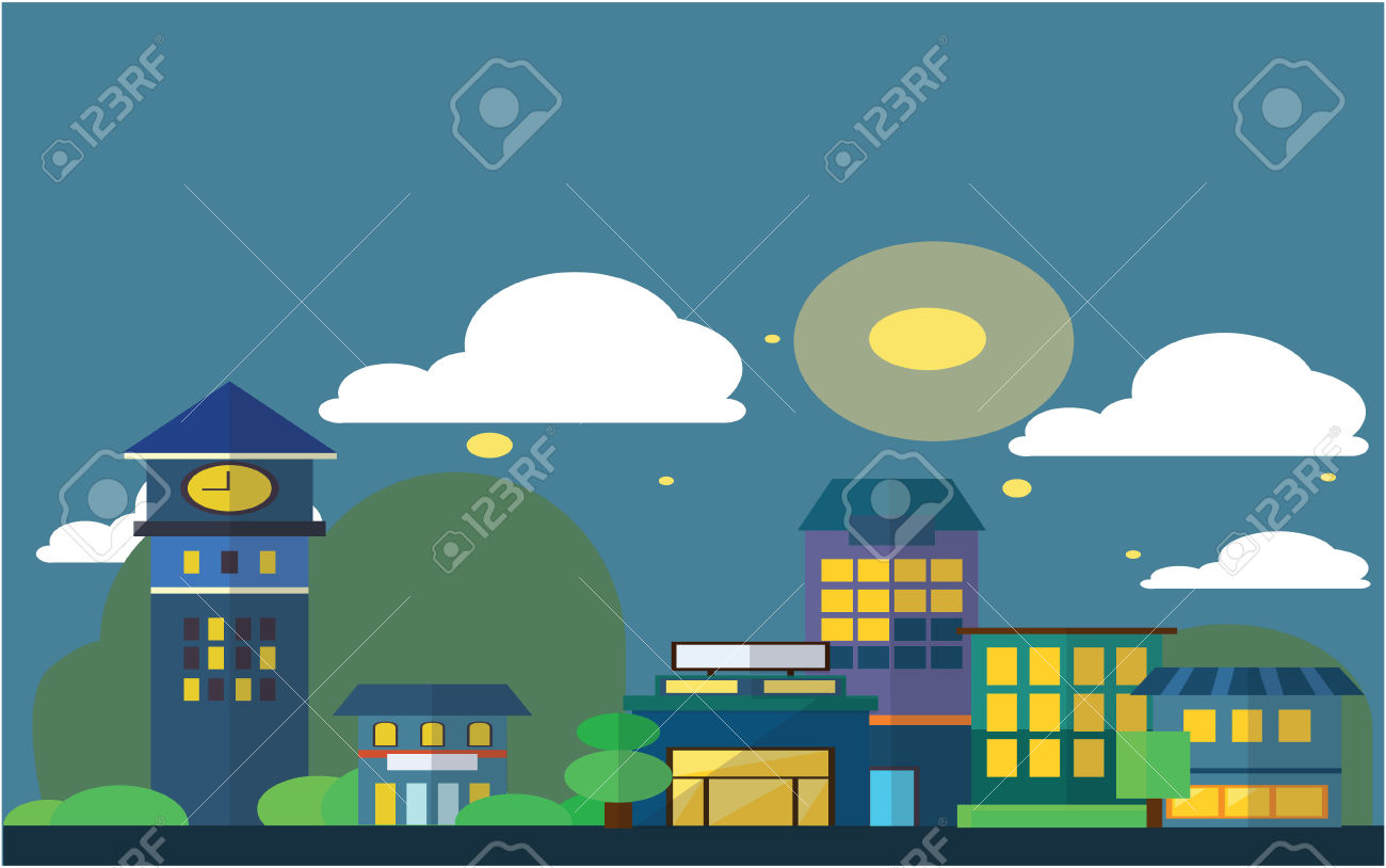 49,606 Sky Building Stock Vector Illustration And Royalty Free Sky.