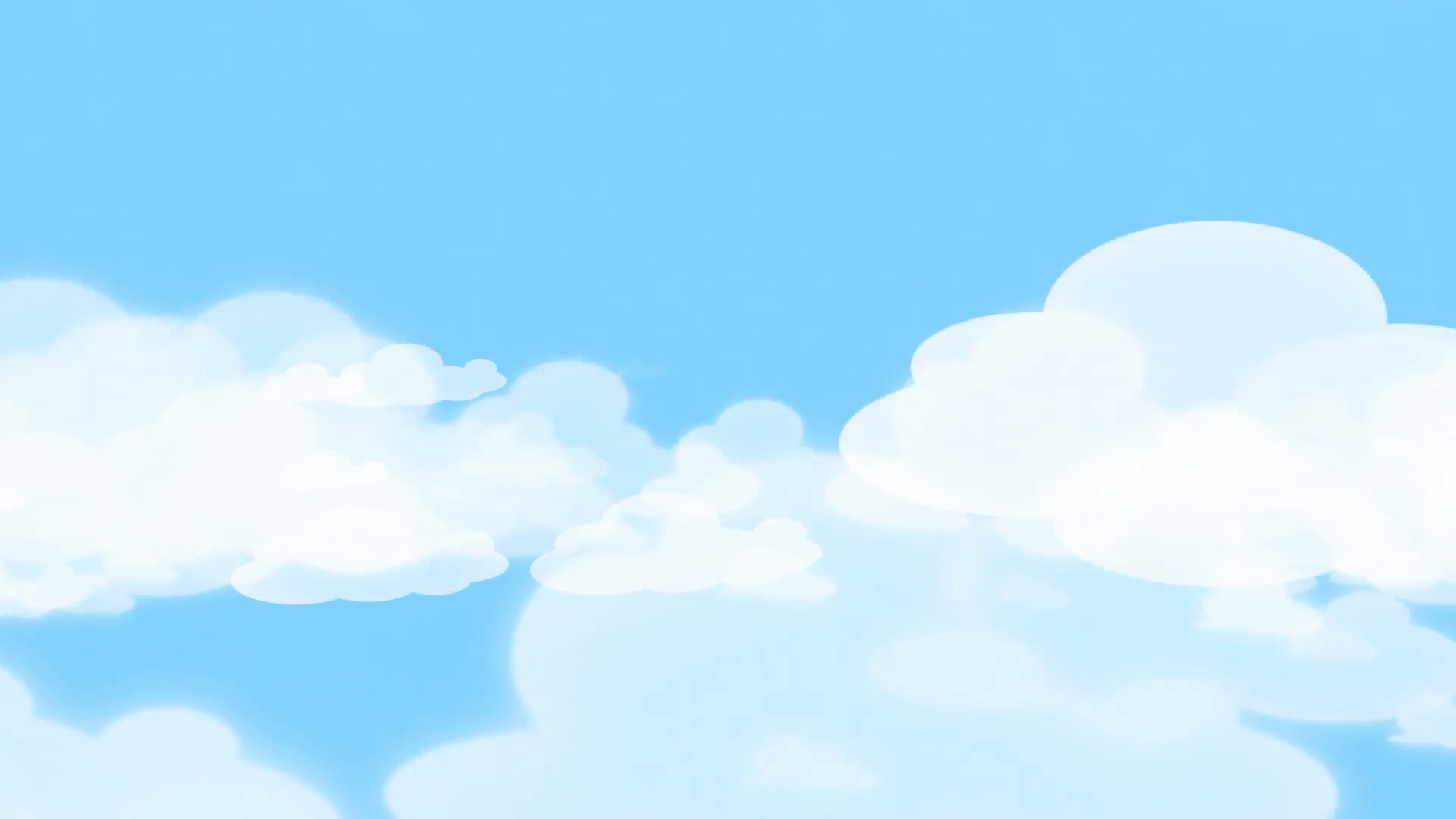 Download Free png Cartoon Clouds and Blue Sky Motion.