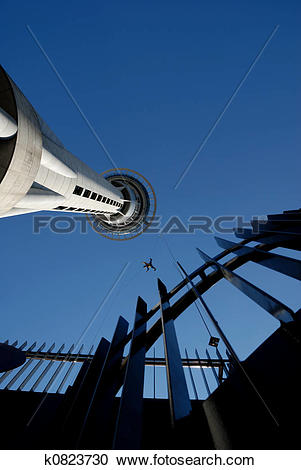 Stock Photography of Sky City Bungee Jump k0823730.