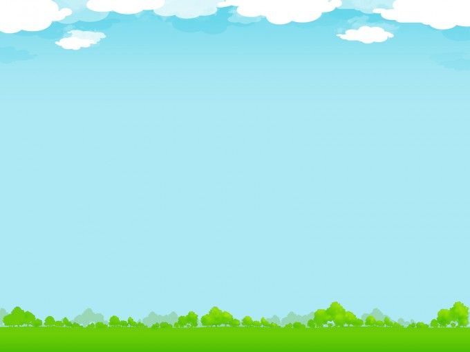 Wonderful design nature with sky ppt background.