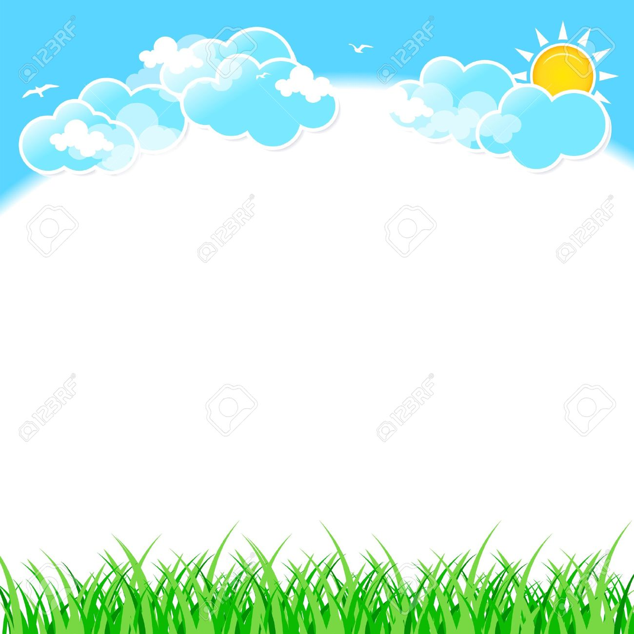 Clouds And Sky Clipart.