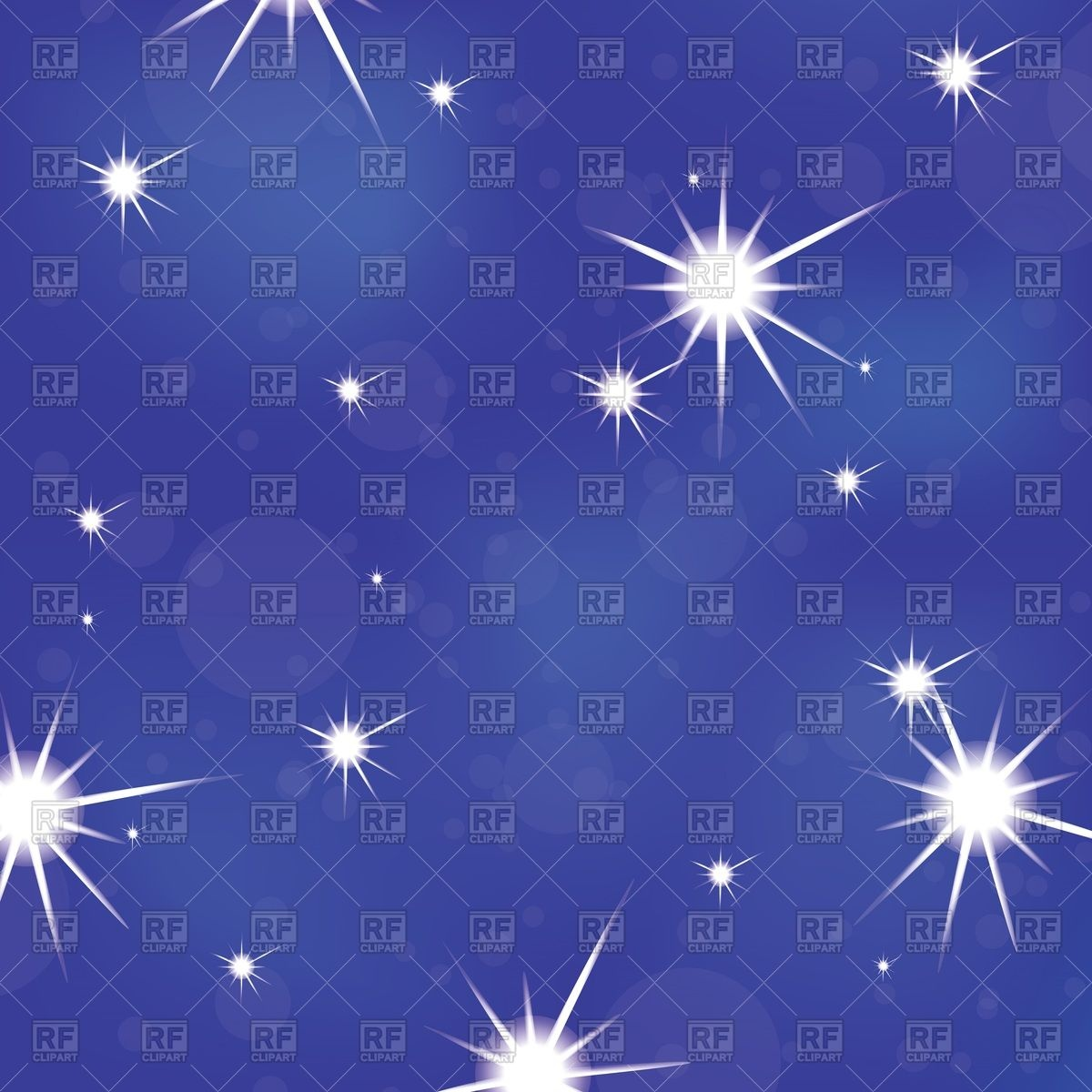 Stars In The Sky Clipart Free.