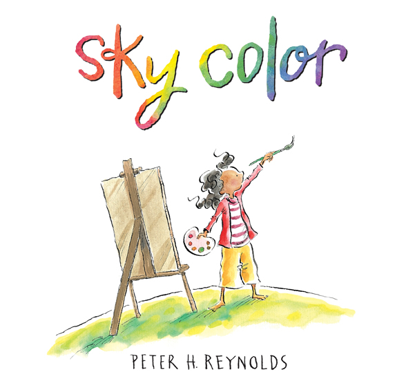 Sky Color A Children's Picture Book about Creativity.