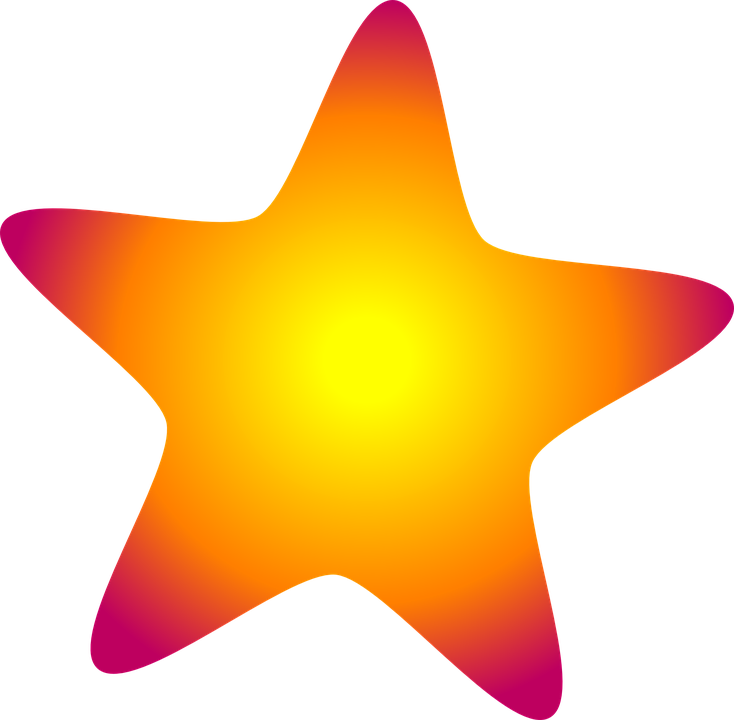 Free vector graphic: Star, Sky, Shape, Night, Colors.