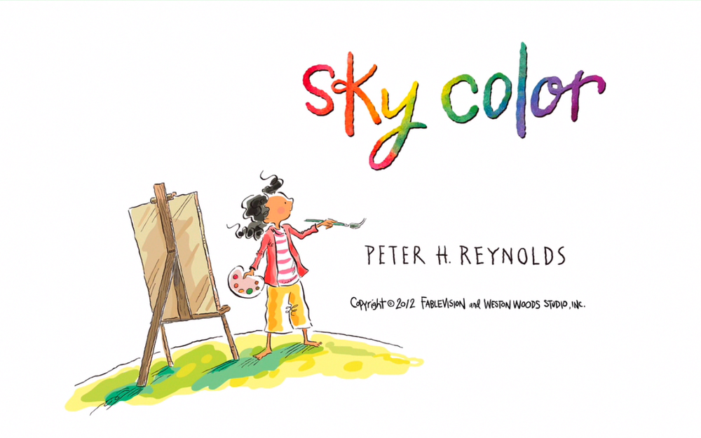 Animation spotlight on Sky Color — FableVision Studios.
