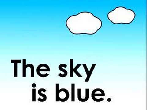 What Color is the Sky? children's song 空は何色?のうた.